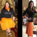 Justine lost 70 lbs and loves being in control of food.