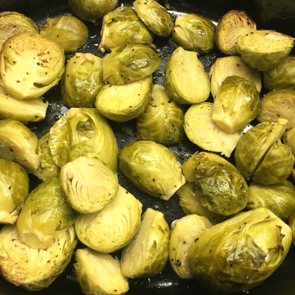 slow cooker brussels sprounts